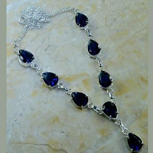 Iolite ~ Handcrafted 925 Necklace